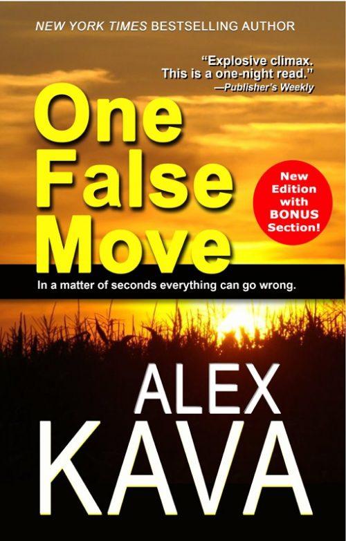 One False Move 2017 Reprint   Alex Kava