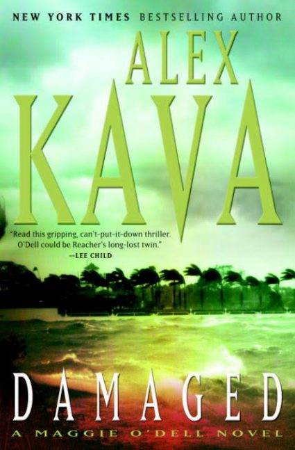 DAMAGED   Alex Kava Books   Autographed hardcover copy