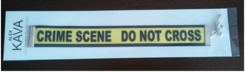 Crime Scene Bookmark   Limited Edition   Alex Kava