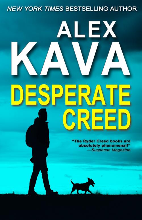 DESPERATE CREED (Book 5 Ryder Creed K-9 series)   Alex Kava