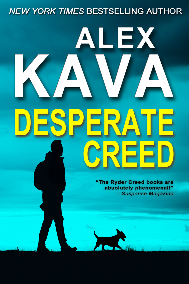 DESPERATE CREED | Book 5 Ryder Creed K-9 Mystery series