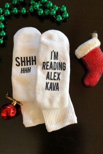 Alex Kava Book Reading Socks