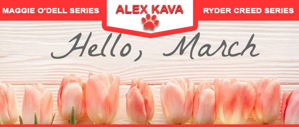 Alex Kava's MARCH 2020 VIR Cllub Newsletter