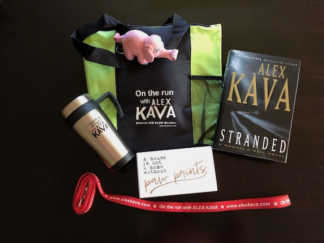 Alex Kava 20 Books 20 Years Giveaway #2