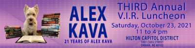 Alex Kava's 2021 VIR CLUB Luncheon